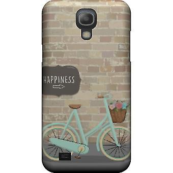 Doden van geluk en fiets cover voor Galaxy S4 mini