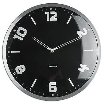 Karlsson Studio Black Clock