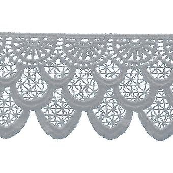 Cross Hatch Edge Venice Lace Trim 2-3/8