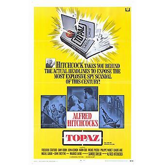 Topaz Movie Poster (11 x 17)