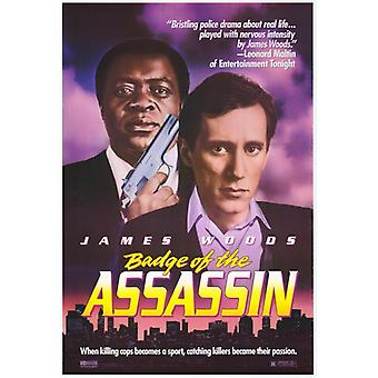 Badge of the Assassin Movie Poster Print (27 x 40)