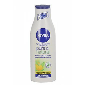 Nivea Pure & natuurlijke Body melk voedende bodylotion