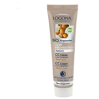 Logona Ap Cc Cream Color Medium Beige (Vrouwen , Make-up , Gezicht , CC Creams)