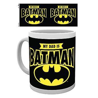 DC Comics Väter Tag Becher mein Vater ist Batman Becher