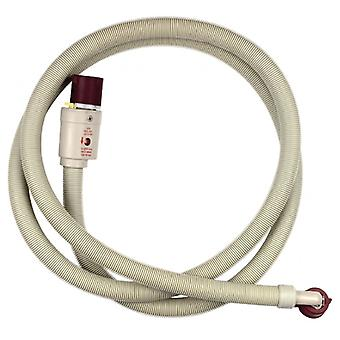 Fixapart Inlet Hose with Waterblock 3/4 '' Straight-3/4 '' Angled 90 ° C 1.50 m