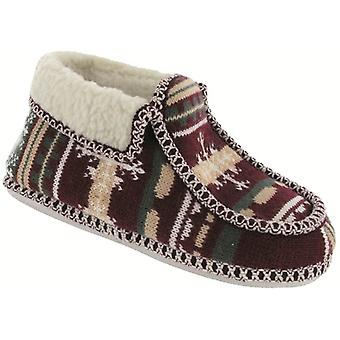 Group Five Ladies Norway Slippers Textile Lining Upper Sole Slip On Fastening