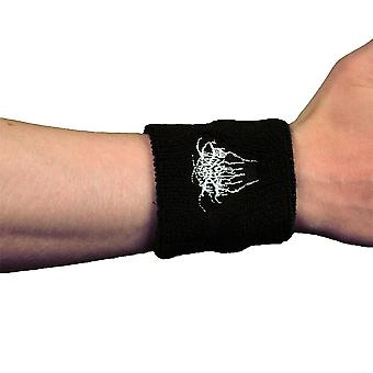 Darkthrone Logo Embroidered Wrist Sweatband