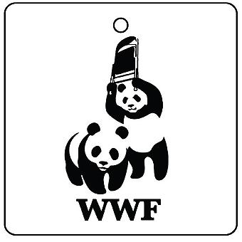 WWF Panda Car Air Freshener