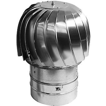 Chimney Flue Cowl Spinner Stainless Steel Plug-in Spinning Cowl 130mm-300mm