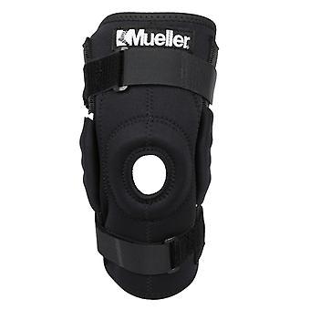 Mueller hængslet Wraparound knæ bandage - sort