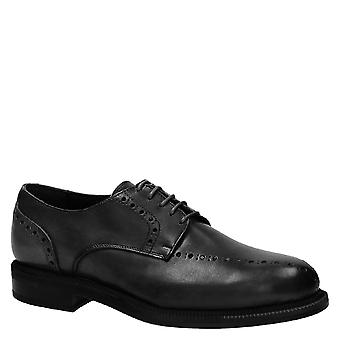 Handmade black dress shoes for men Made in Italy