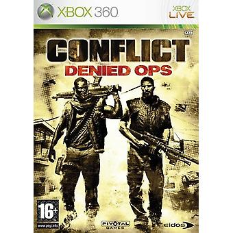 Conflict Denied Ops Xbox 360 spil