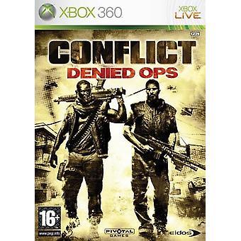 Konflikt verweigert Ops Xbox 360 Spiel
