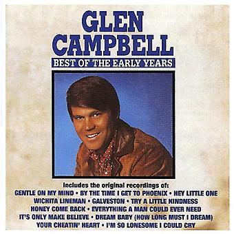 Glen Campbell - bedste af tidlige år [CD] USA importen