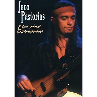 Jaco Pastorius - Live & upprörande [DVD] USA import