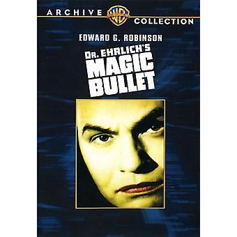 Doctor Ehrlich's Magic Bullet [DVD] USA import