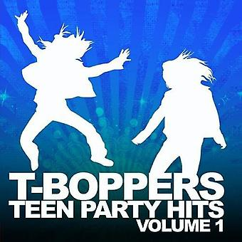T-Boppers-T-Boppers: Vol. 1-Teen Hits Party [CD] USA import