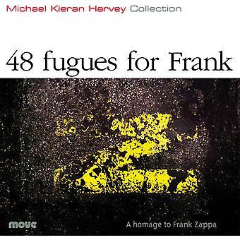 Michael Kieran Harvey - Michael Kieran Harvey: 48 Fugues for Frank [CD] USA import