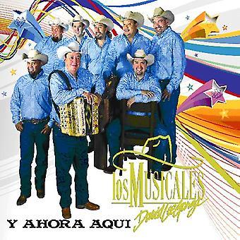 David Garza Lee Y Los Musicales - Y Ahora Aqui [CD] USA import