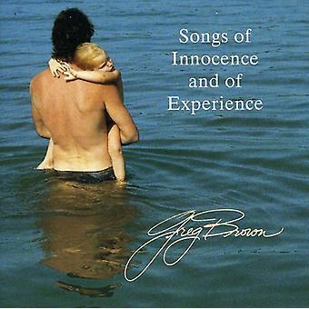 Greg Brown - sange af uskyld & af erfaringer [CD] USA import