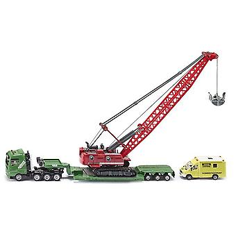 Siku Heavy Haulage Transporter With  Cable Excavator And Service