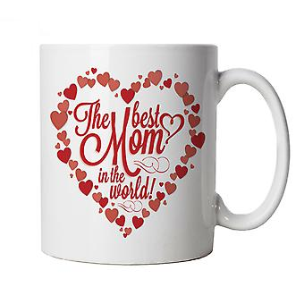 Vectorbomb, The Best Mom In The World, Novelty Mug Gift For Mum