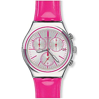 Swatch PROUD TO BE PINK Ladies Watch YCS587