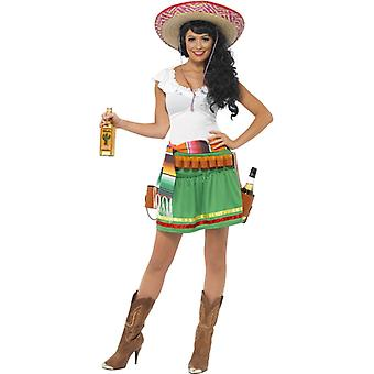 Tequila shooter girl costume Mexico Tequila costume