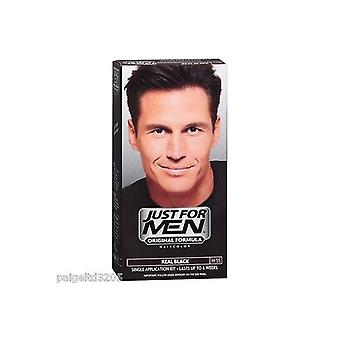 Just For Men 3 X solo per uomo per capelli Real Black (H55)