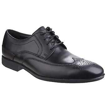 Rockport Style Connected Mens Wing Tip Formal Shoes