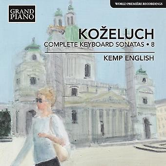 Kozeluch / dansk - Leopold Kozeluch: komplet tastatur [CD] USA import