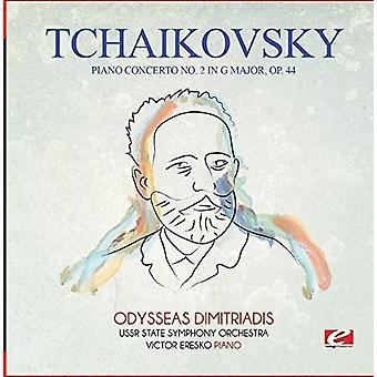 Czajkowski - Koncert fortepianowy nr 2 import USA G głównych Op. 44 [CD]