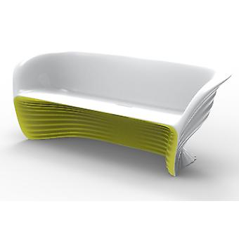 Vondom Biophilia Sofa Love White-lacquered steel 59003FP