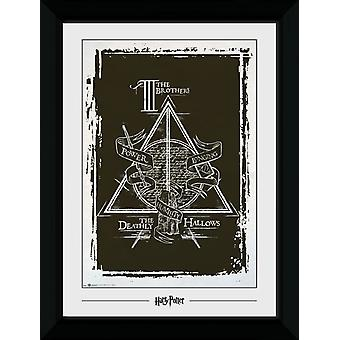 Harry Potter Deathly Hallows grafische Collector Print 50x70cm