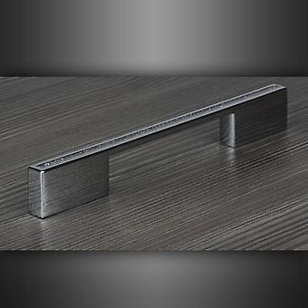 M4TEC Bar Knob Kitchen Cabinet Door Handles Cupboards Drawers Bedroom Furniture Pull Handle [Polished chrome with sealed glitter centre]. C5 series