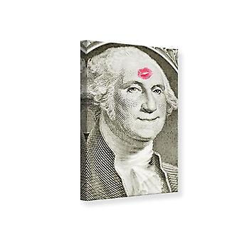 Lona impresión George Washington billete