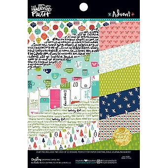 Illustrated Faith Double-Sided Paper Pad 6