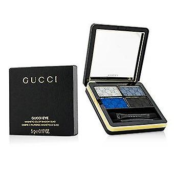 Gucci Magnetic Color Shadow Quad - #100 Ocean Rhapsody - 5g/0.17oz