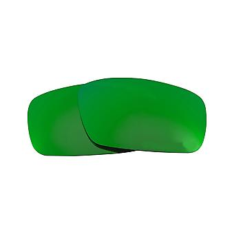 ed514b7a0fc CRANKSHAFT Replacement Lenses Green Mirror by SEEK fits OAKLEY Sunglasses