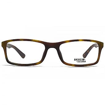 American Freshman Sam Classic Rectangle Glasses In Tortoiseshell