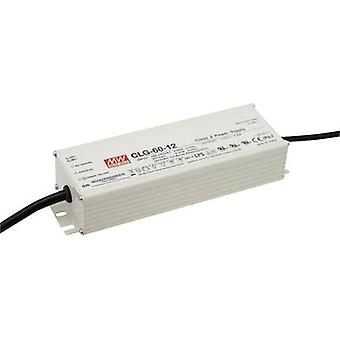 LED driver, LED transformer Constant voltage, Constant current Mean Well CLG-60-12