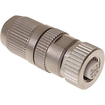 Sensor/actuator data cable M12 Socket, straight No. of pins (RJ