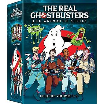 Real Ghostbusters 1-5 [DVD] USA import