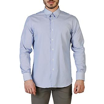 Trussardi Men Shirts Blue