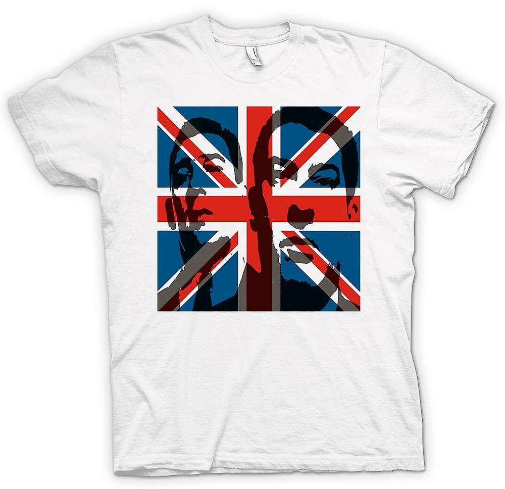 Femmes T-shirt - L'Union Jack Krays - Gangster