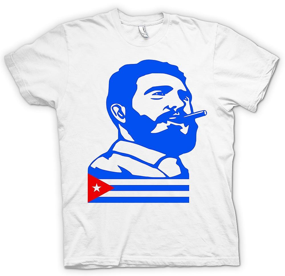 T-shirt homme - Fidel Castro - Cuba
