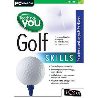 Enseignement-vous Golf compétences