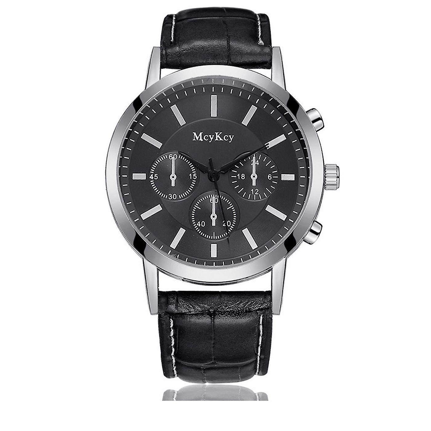 Luxury Silver Chrono Watch Called Elegant Time