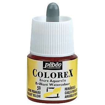 Pebeo Colorex Ink 45ml (59 Primary Yellow)