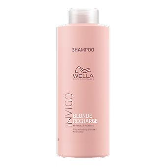 Wella Invigo Blonde Recharge Cool Blonde Color Refreshing Shampoo 1000ml